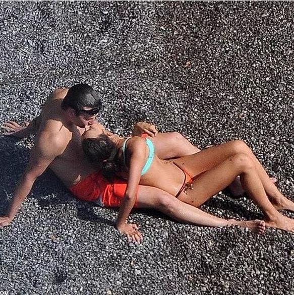 Брэдли Купер и Ирина Шейк в италии.
