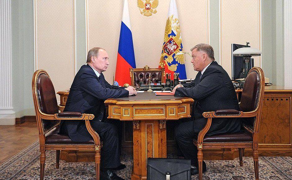 Путин и Якунин