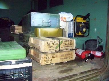 На Луганщине задержали грузовик, набитый боеприпасами