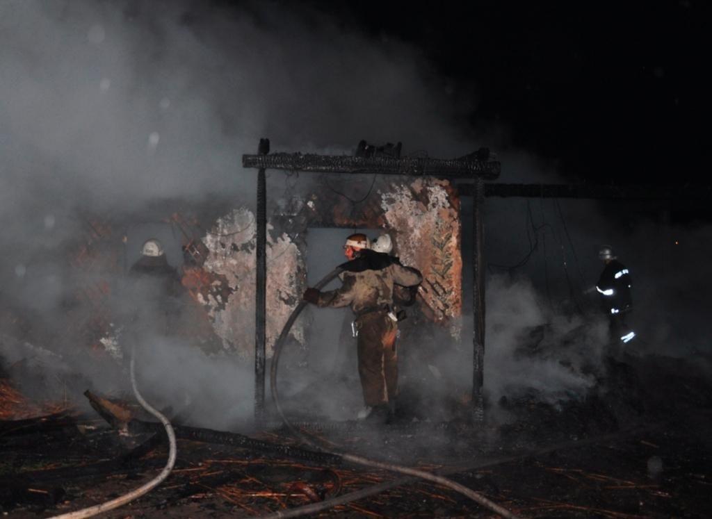 От молнии на Хортице горела «Запорожская Сечь»