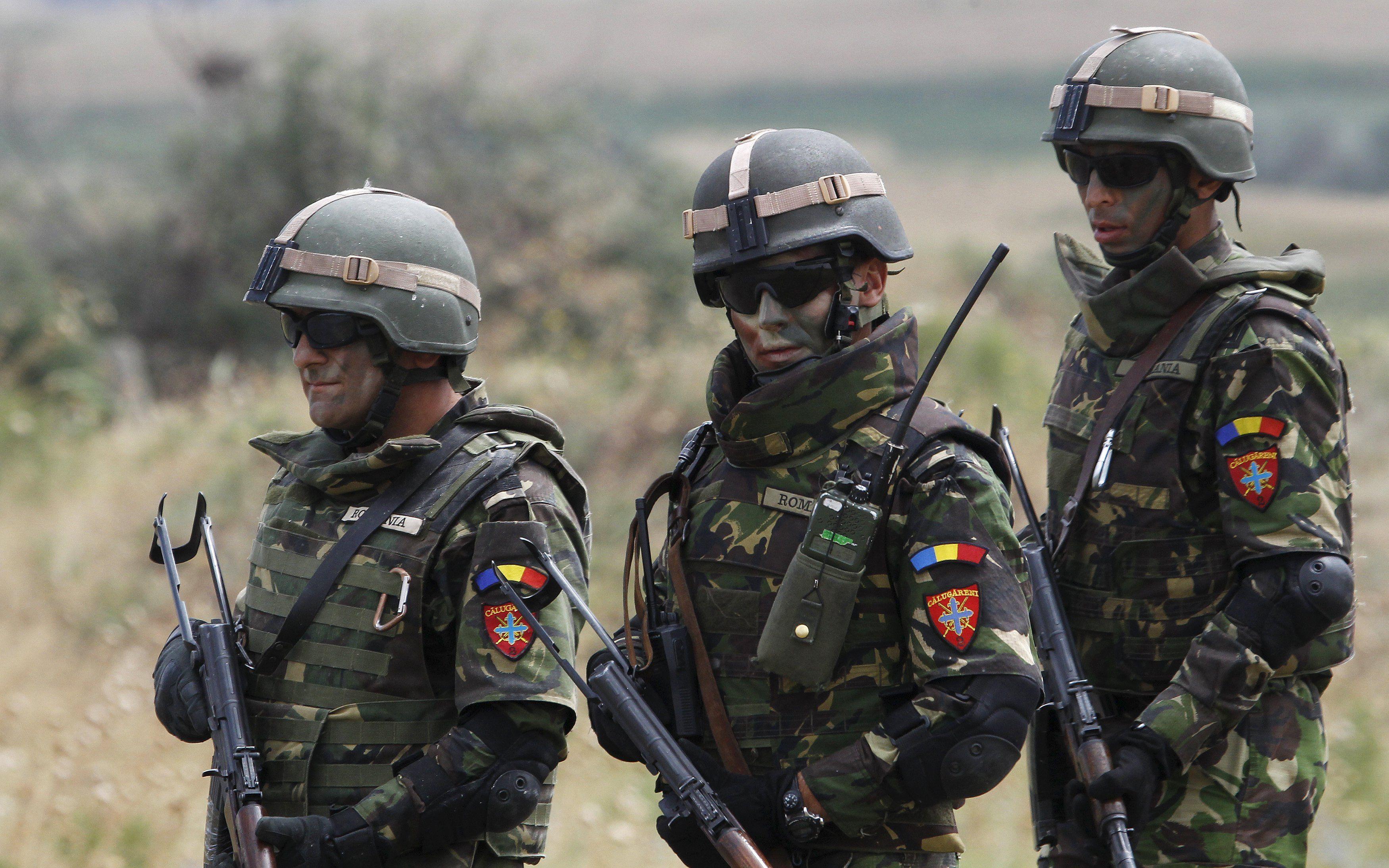 Солдаты НАТО в Европе, иллюстрация.
