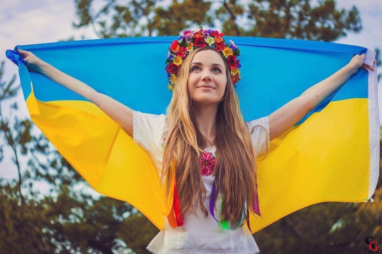 Украинка, иллюстрация