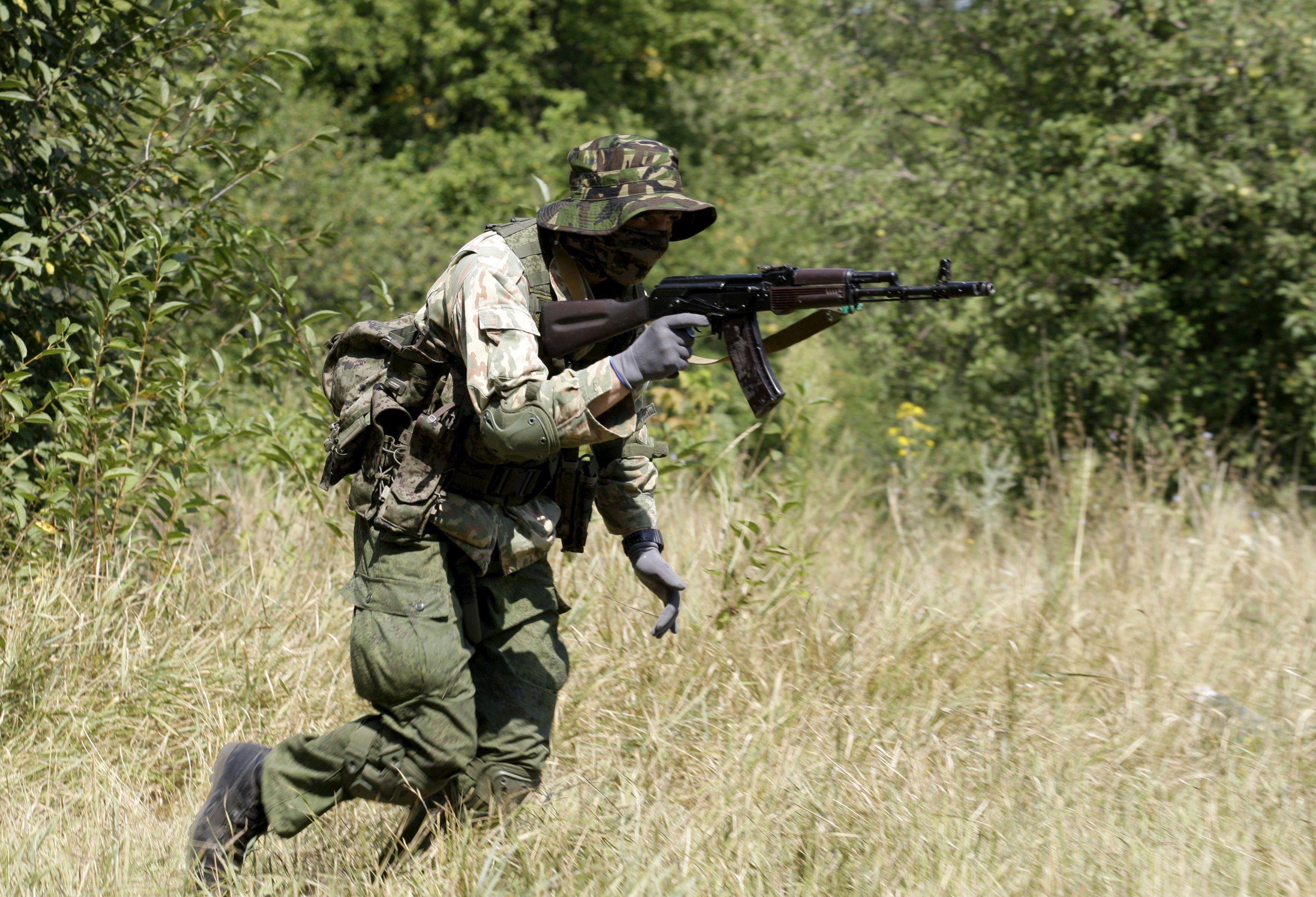 Боевик под Донецком, иллюстрация