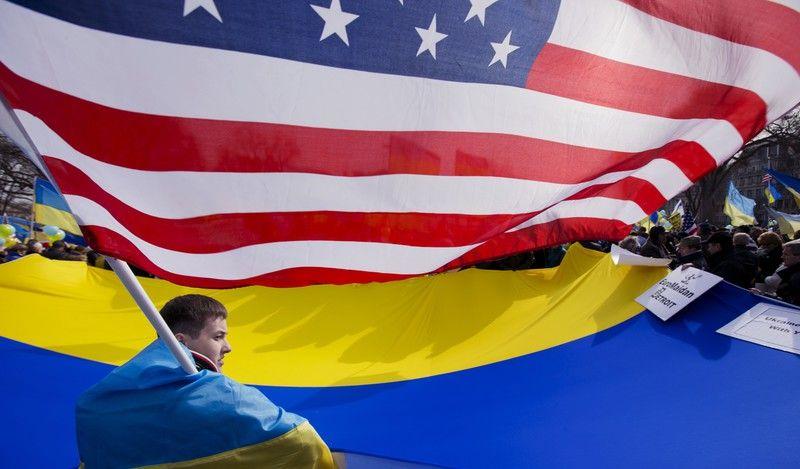 США, Украина, флаг