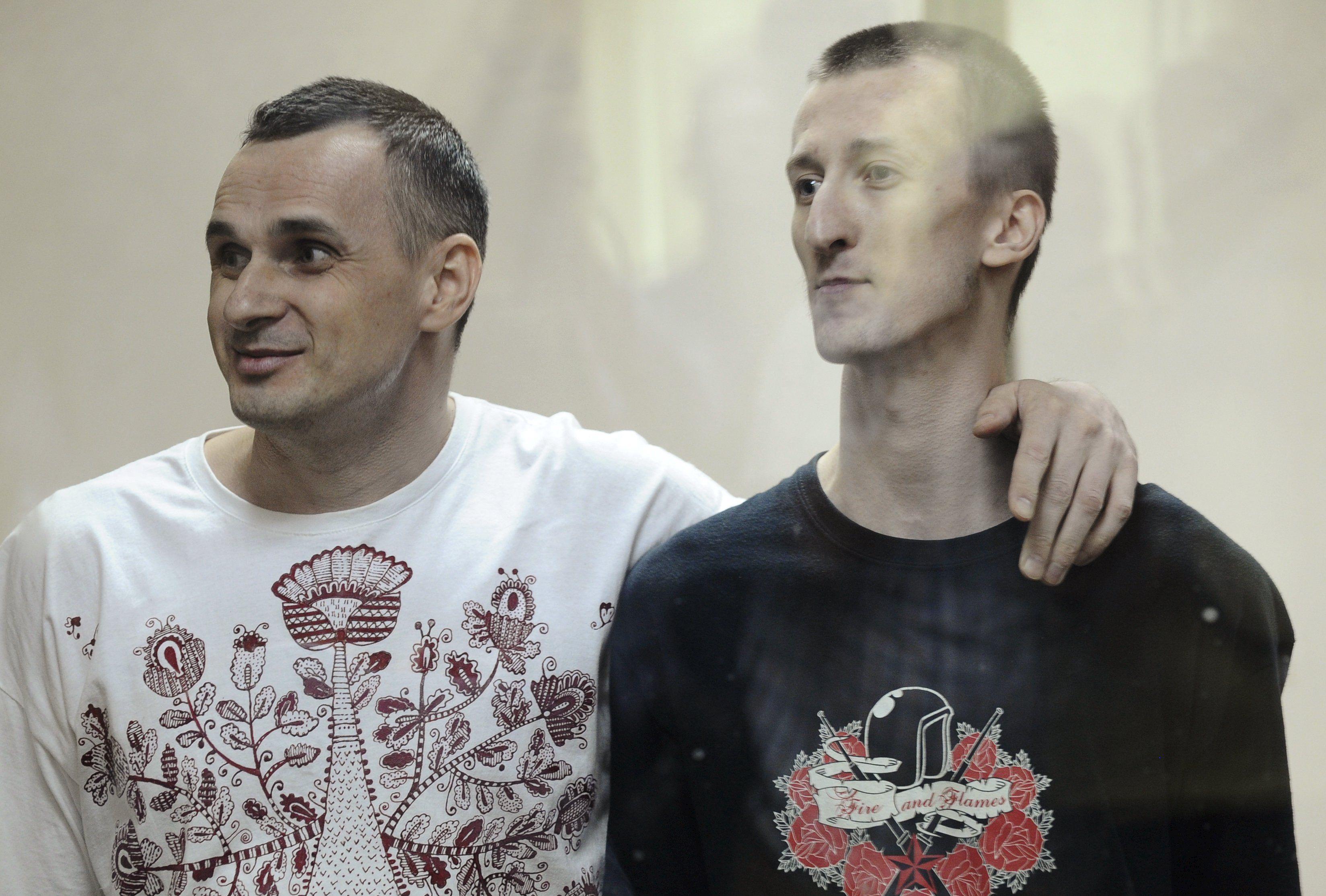 Российские политзаключенные - Олег Сенцов и Александр Кольченко
