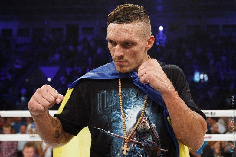 Усик считает, что любительский бокс сильнее профессионального