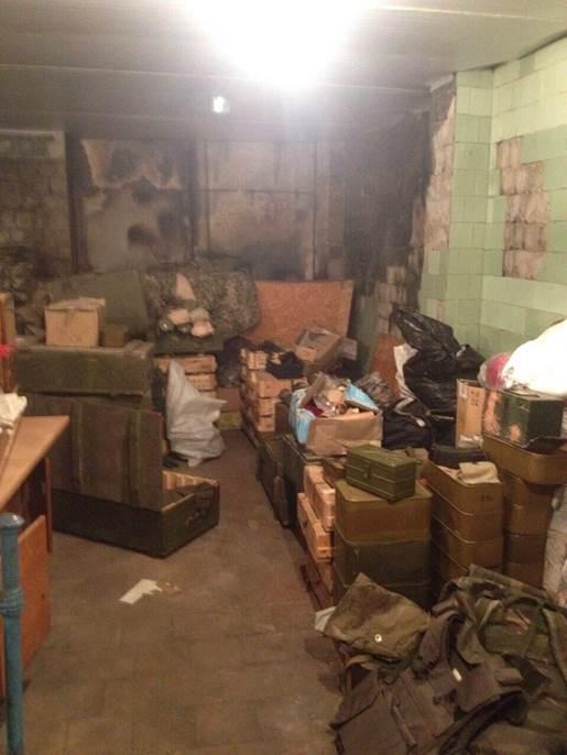 На Луганщиненашли схроны с оружием