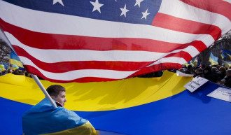 США, Україна, прапор
