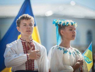 День Независимости в Житомире