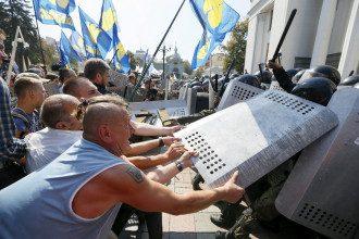 Столкновения под Радой 31 августа