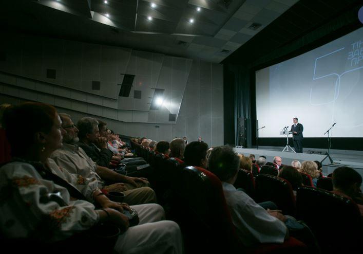 Петр Порошенко на вечере по случаю 50-летия премьеры фильма