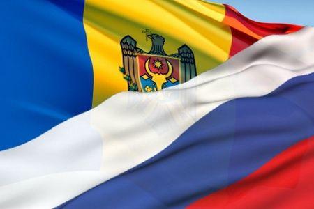 Молдова, россия, флаги