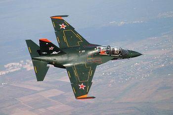 Российский военный самолет, иллюстрация