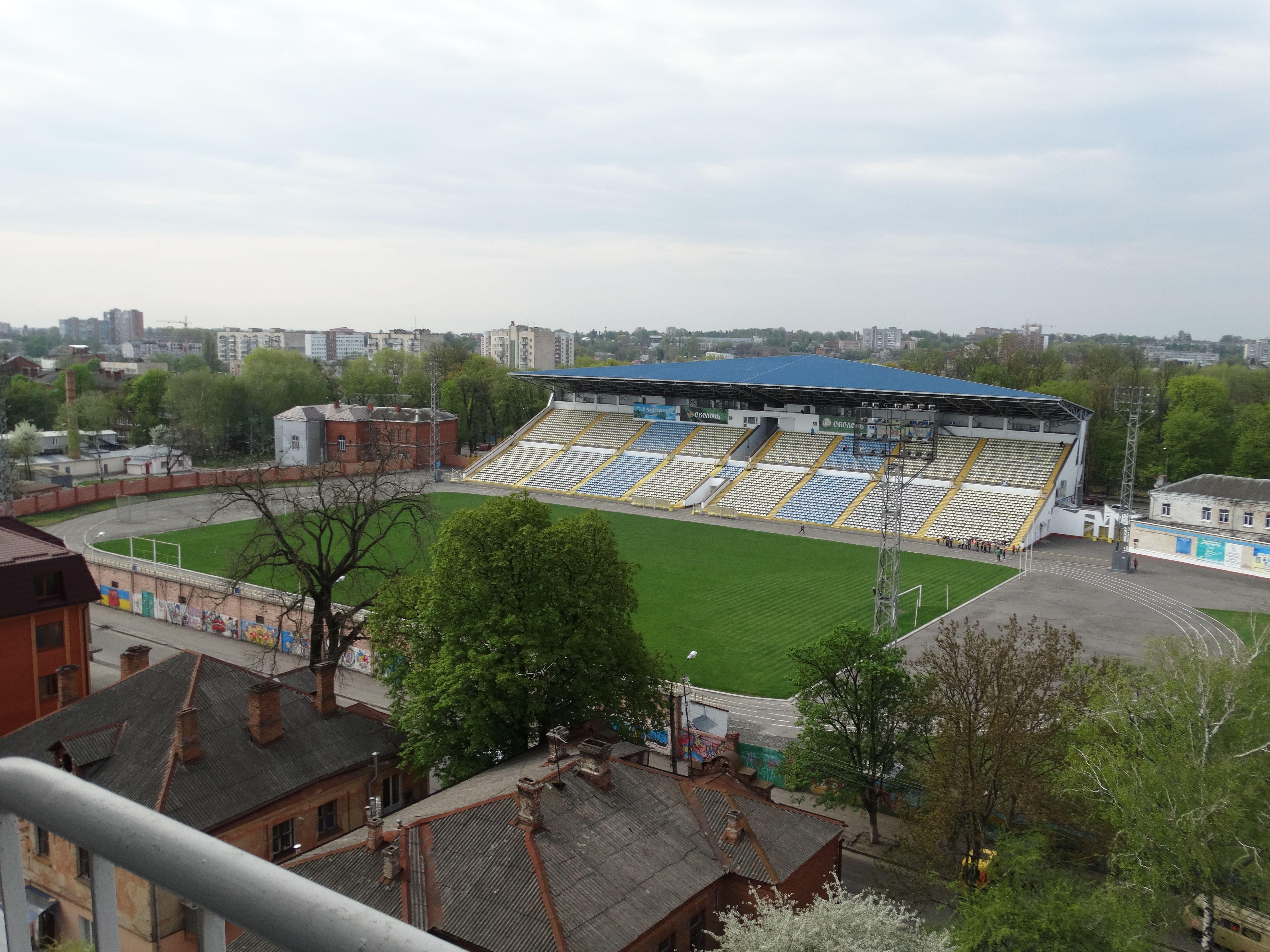 Стадион в Хмельницком