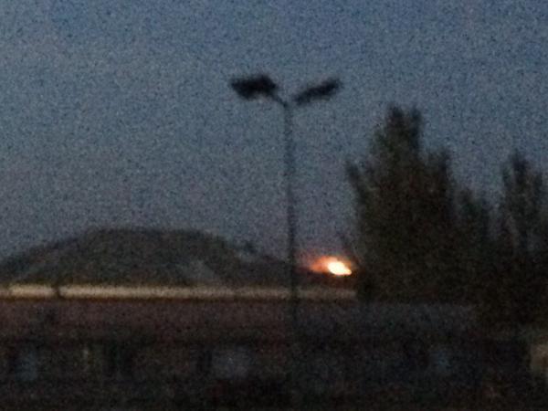 Взрыв в Макеевке, иллюстрация