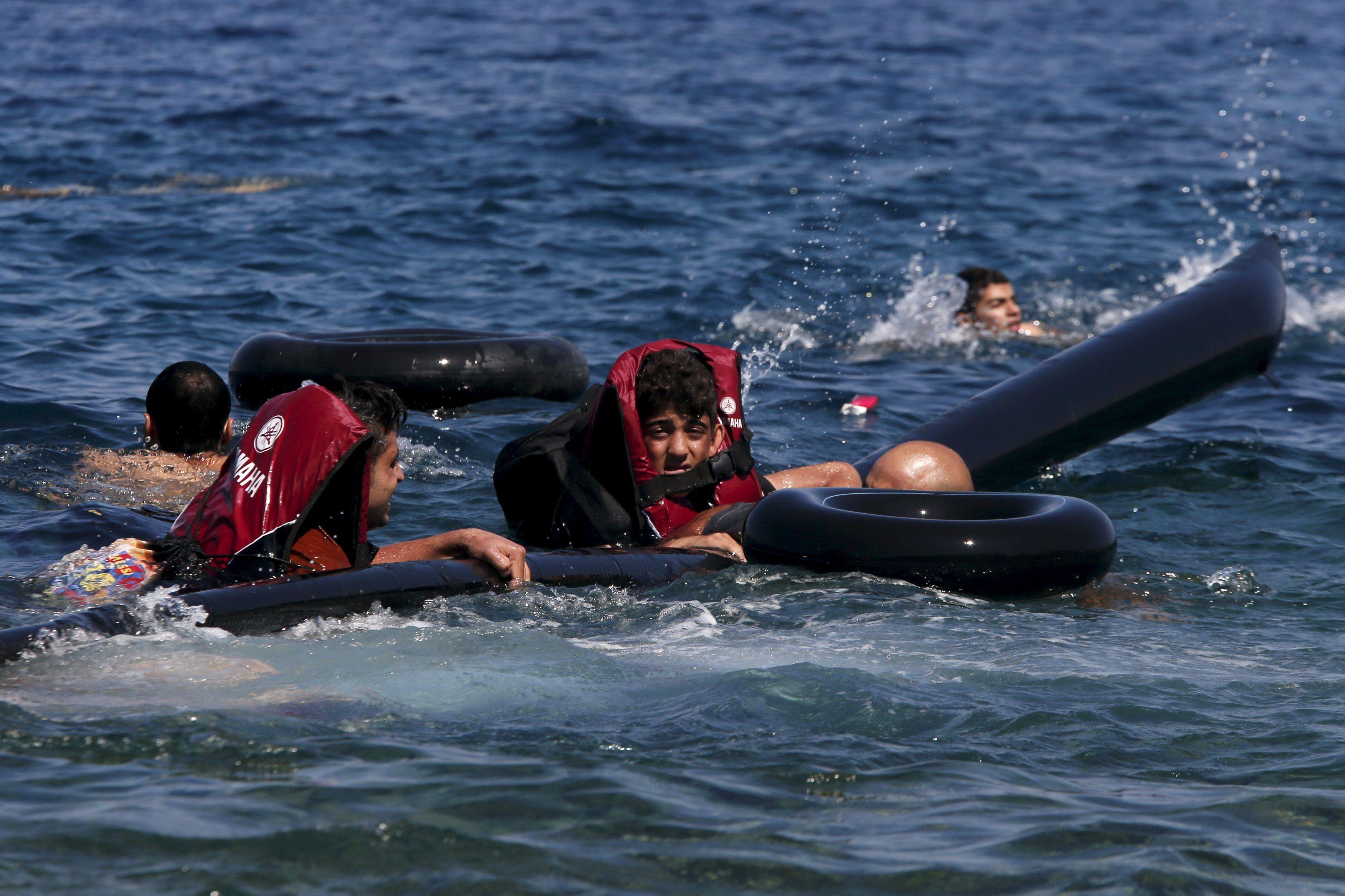 Мигранты, иллюстрация