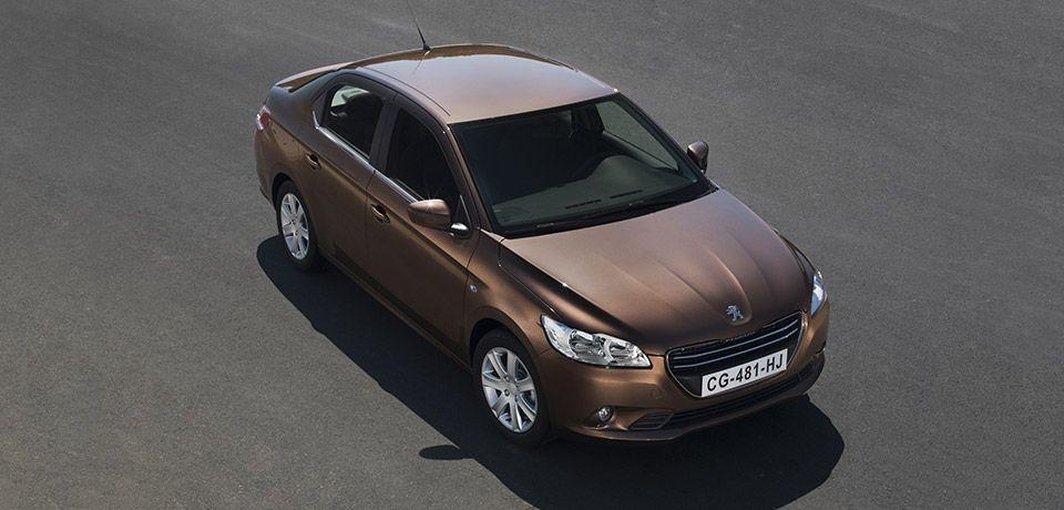 Peugeot 301 базовой комплектации подешевеет всего на 5,5 тысяч гривен