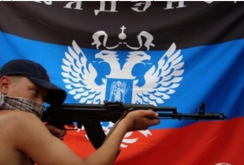 Боевики ДНР раздают