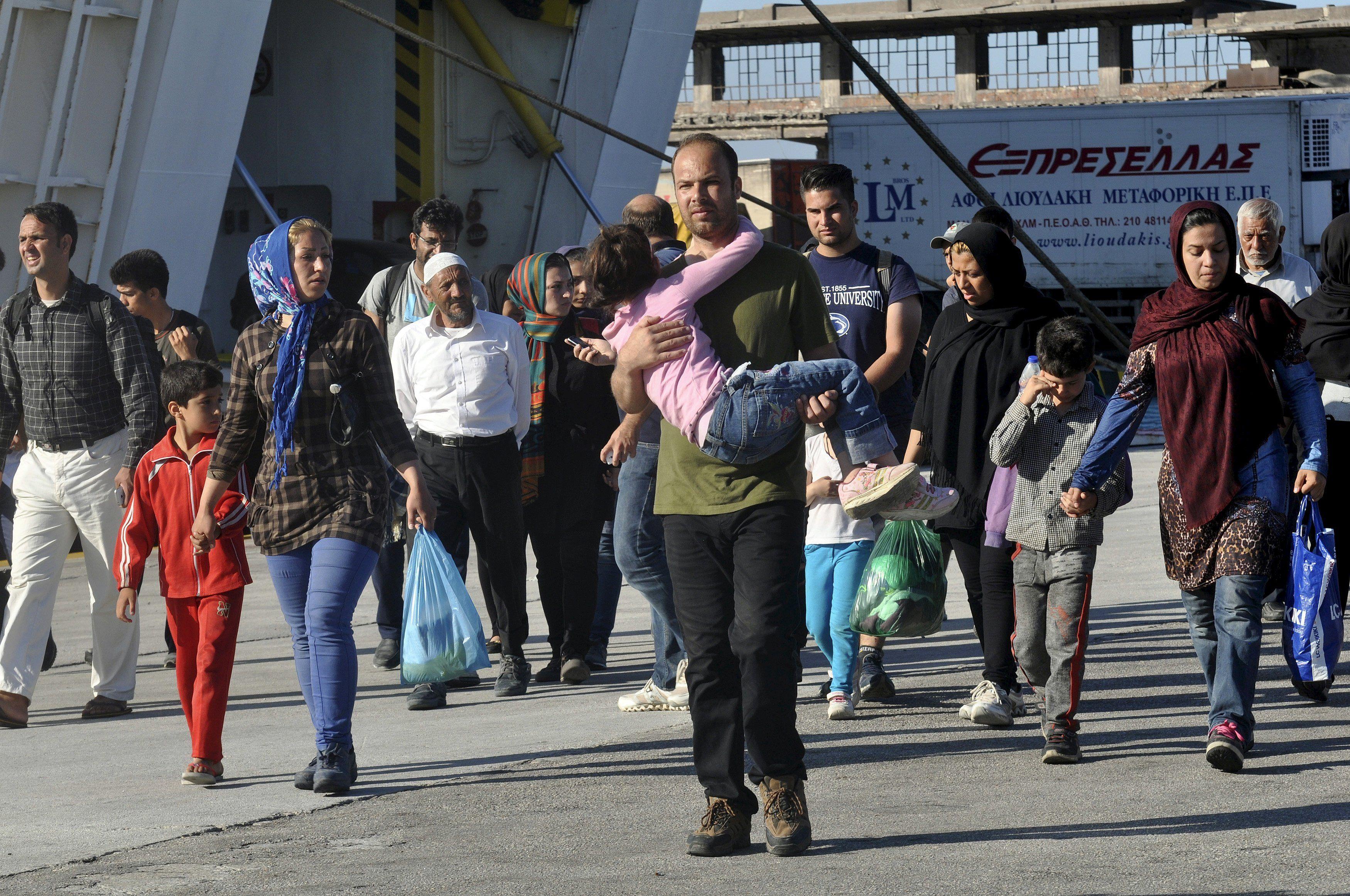 Мигранты в Европе, иллюстрация