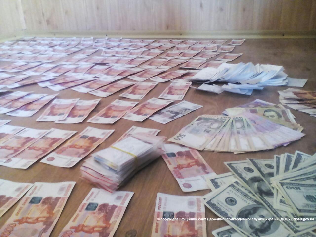 Контрабандный миллион рублей