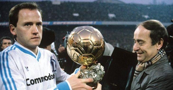 Игорь Беланов с Золотым мячом