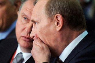Сечин, Путин