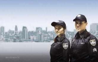 Патрульная служа в Киеве, иллюстрация