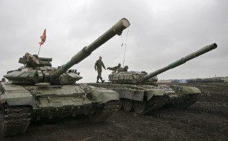 Боевики ДНР на Донбассе, иллюстрация