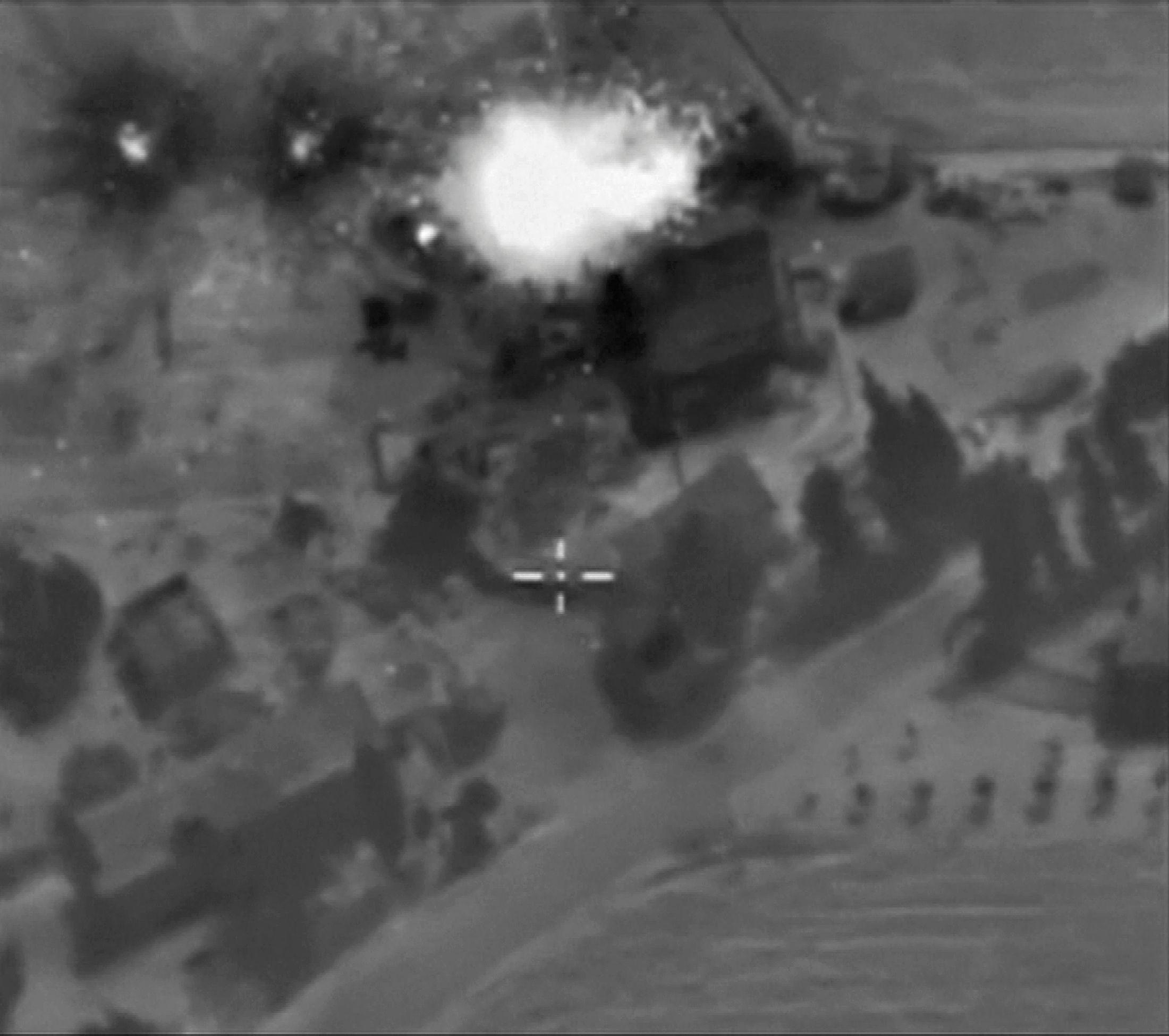Российская бомбежка Сирии