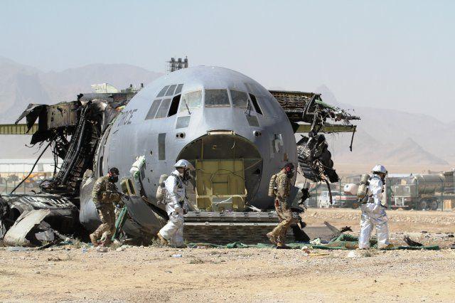 самолет США С-130, иллюстрация