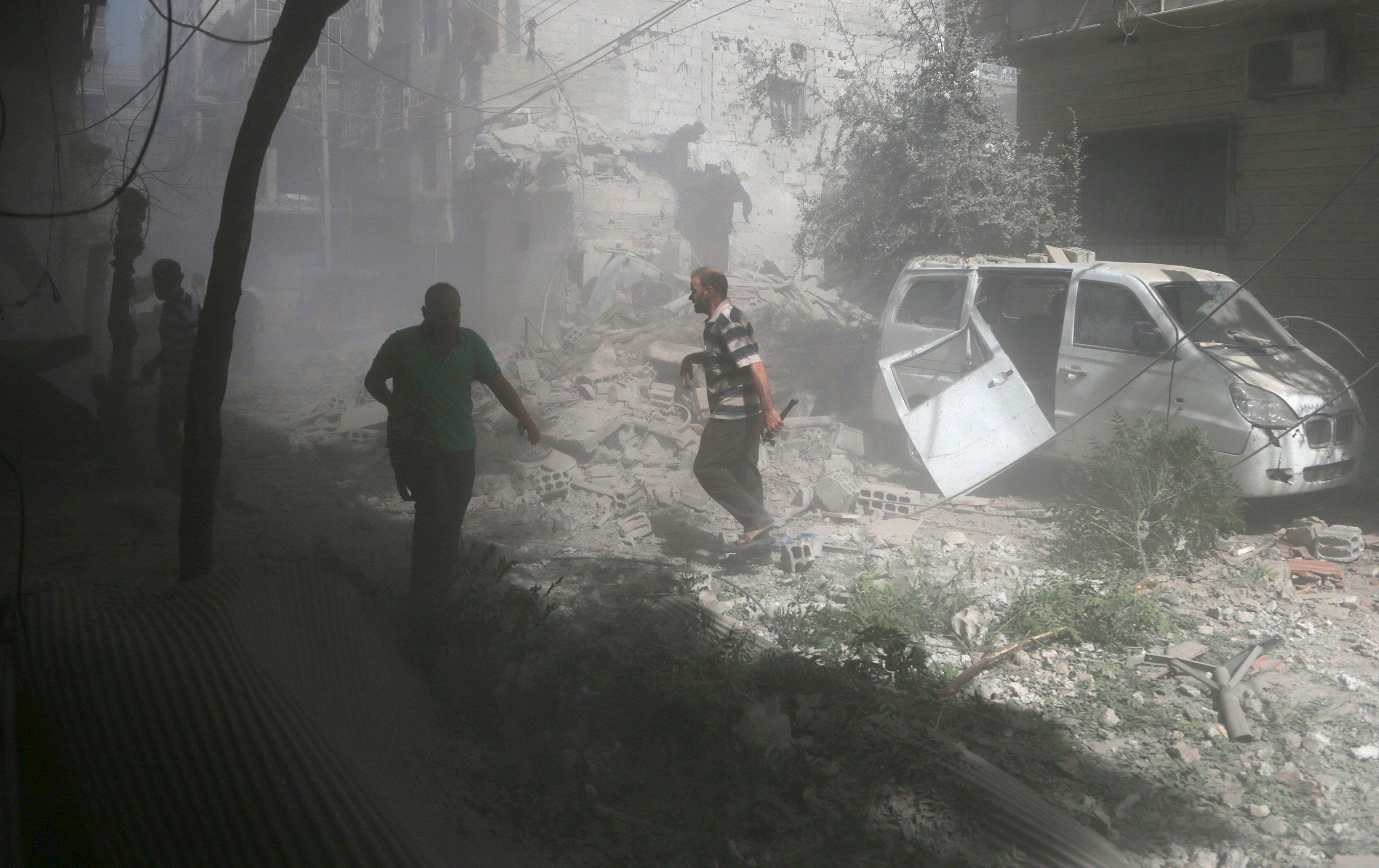 Действия РФ в Сирии будут иметь
