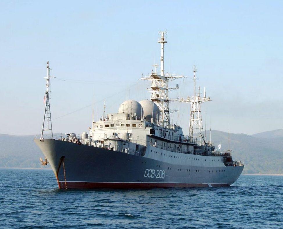 Корабль Балтийского флота
