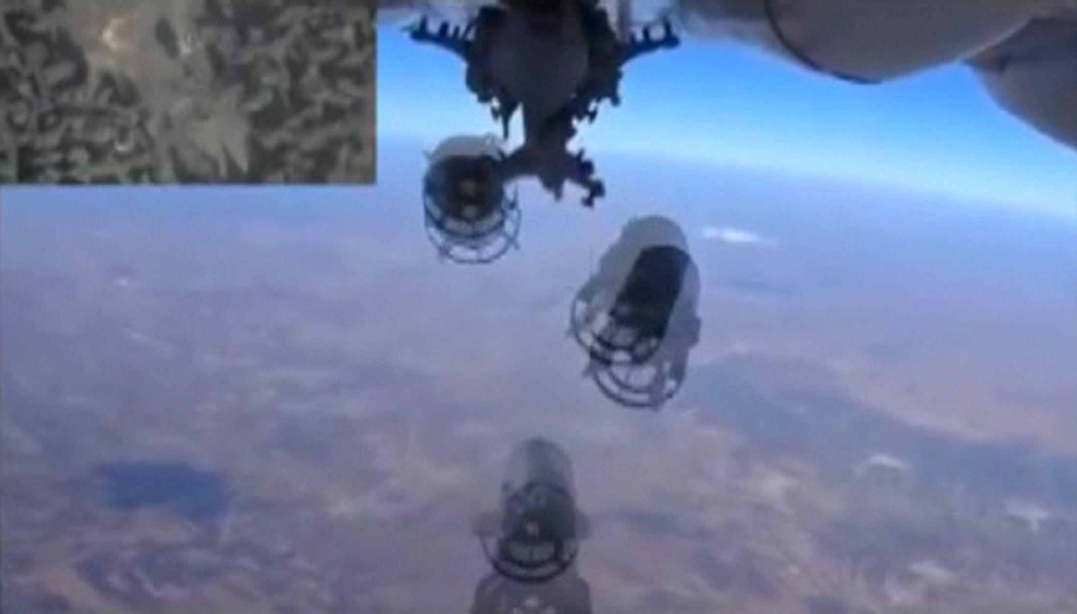РФ продолжает бомбить Сирию
