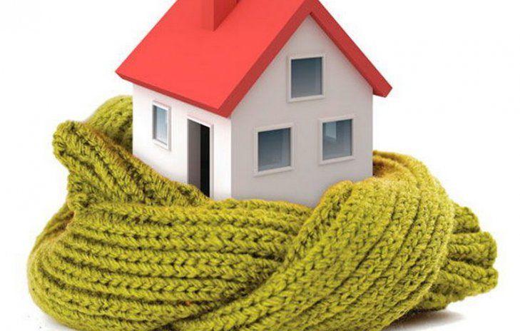 дом, тепло