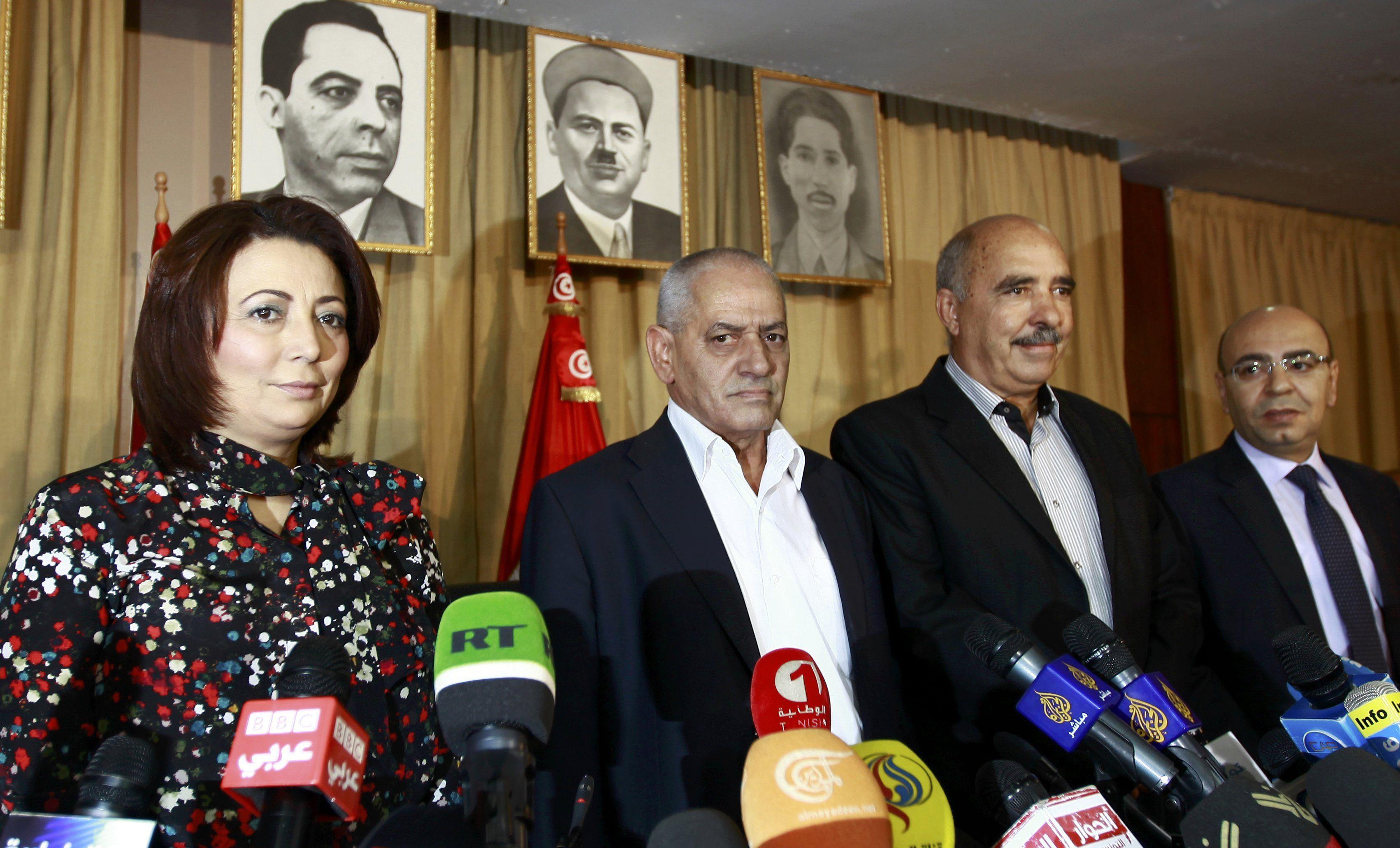 Тунисский национальный диалоговый квартет.
