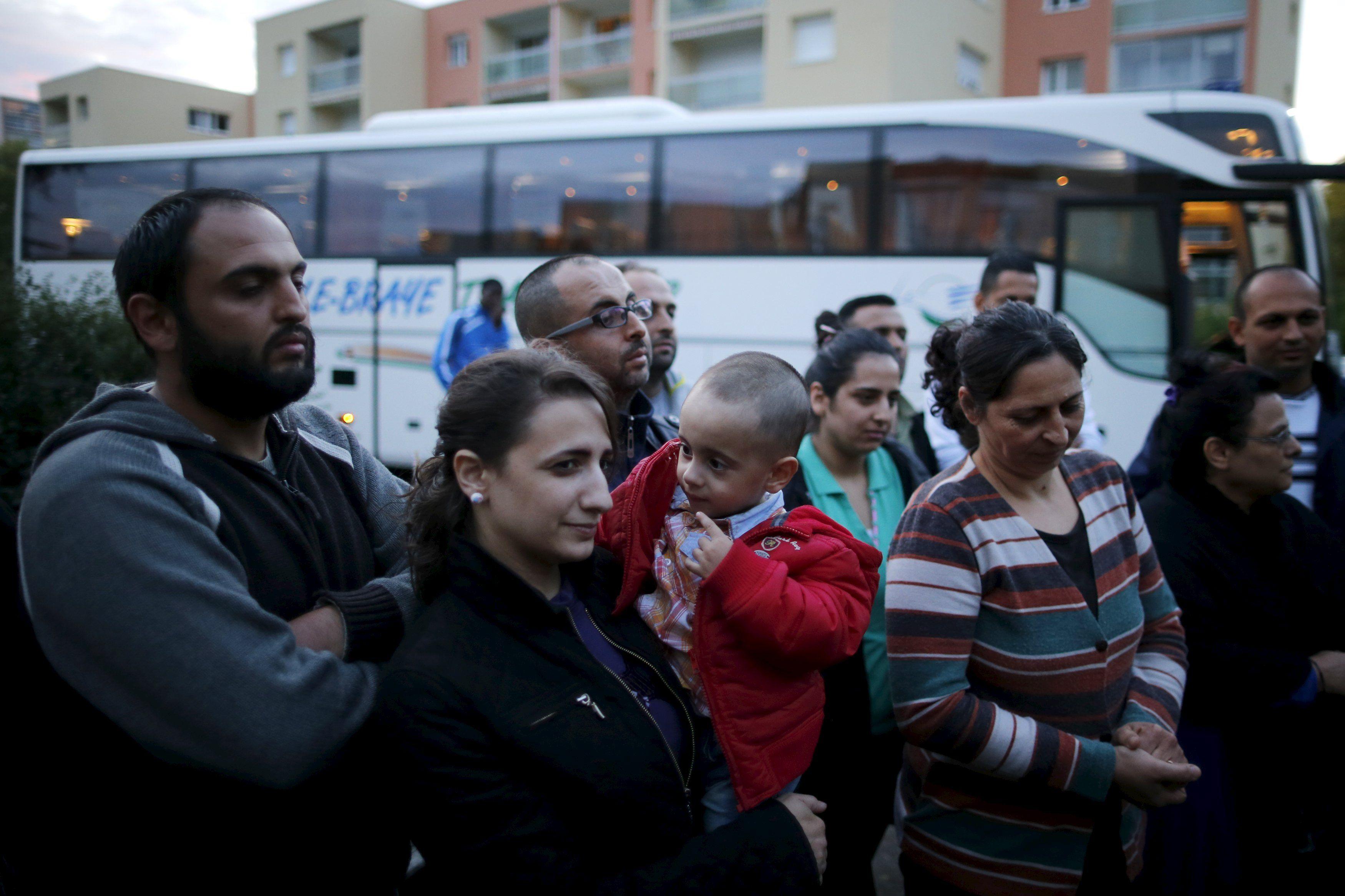 Сирийские беженцы в ЕС