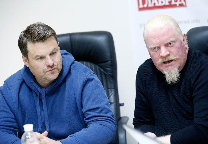 Андрій Капраль і Володимир Якимець (