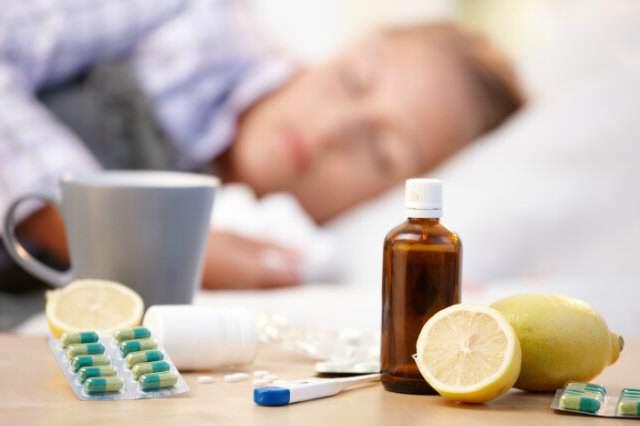 таблетки, лечение, простуда