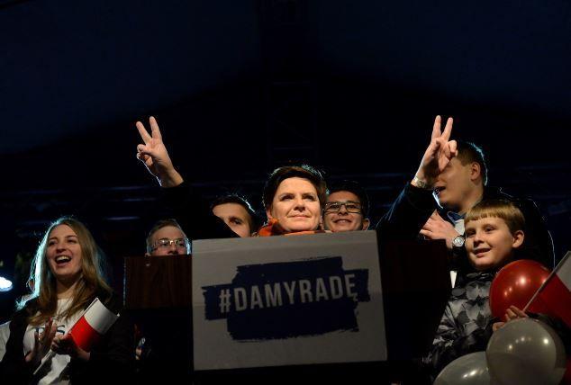 Беата Шидло может стать премьером Польши.