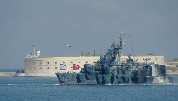 Кроме катеров, в Азовском море находятся два переброшенных с Каспия МРК