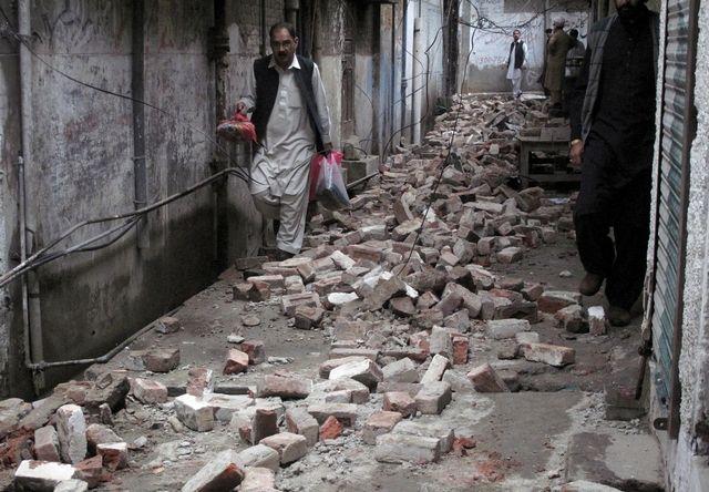 В Афганистане произошло мощное землетрясение