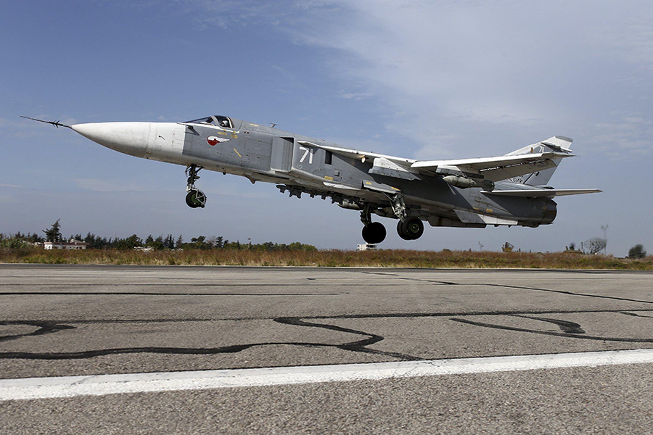 Авиация РФ а Сирии, иллюстрация