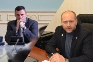 Виталий Кличко и Борислав Береза