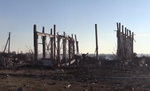 Последствия пожара в Сватово, иллюстрация