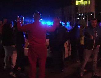 Киевские полицейские разогнали стритрейсеров