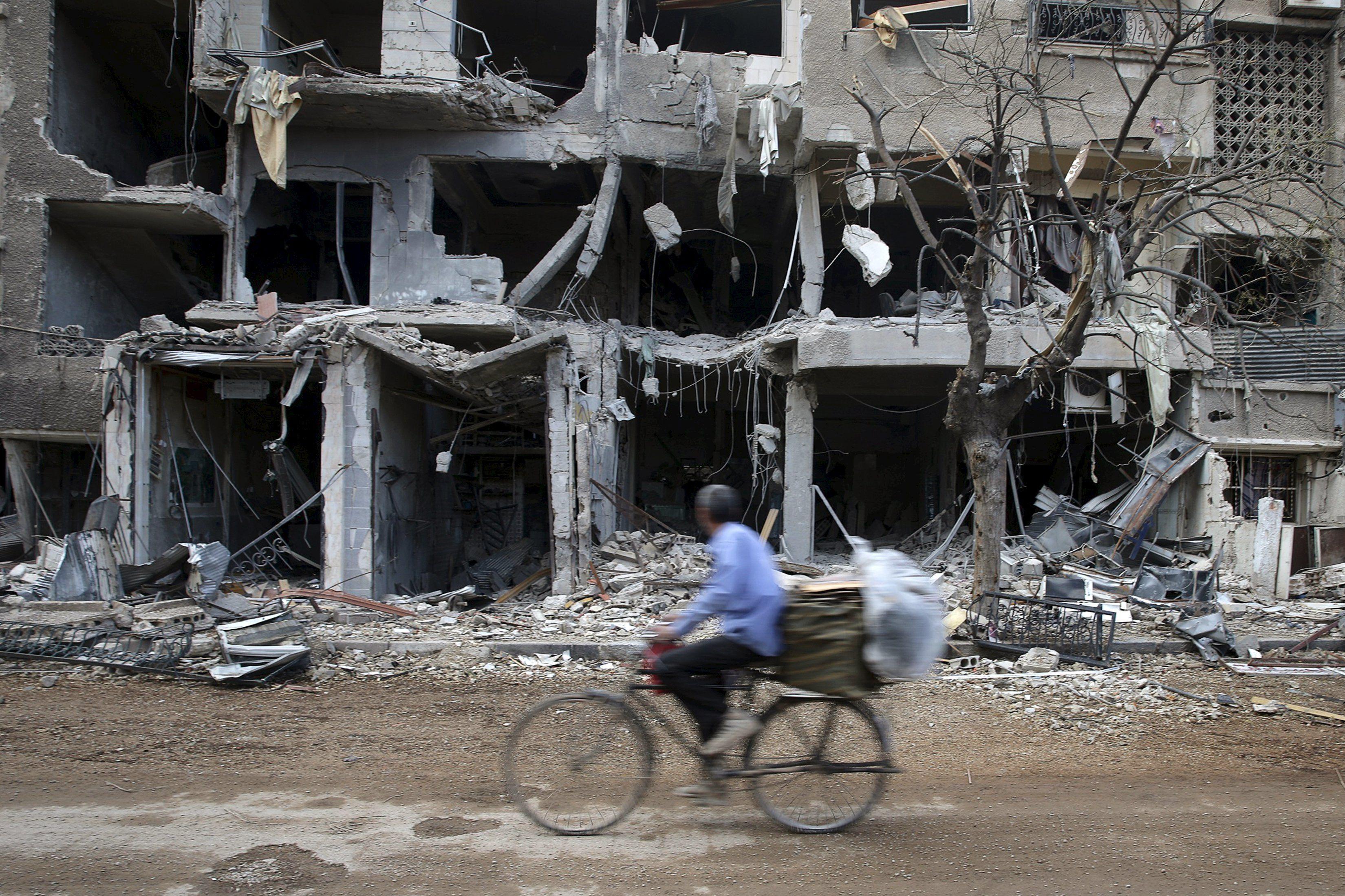 Результаты войны в Сирии