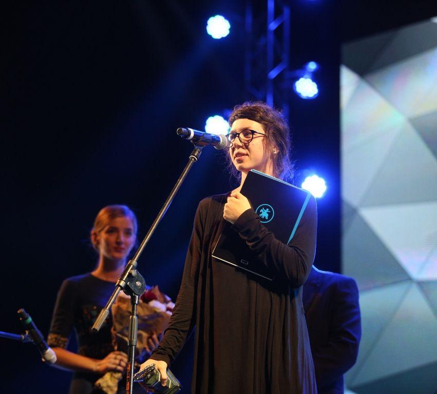 Победительница Национального конкурса Е.Горностай