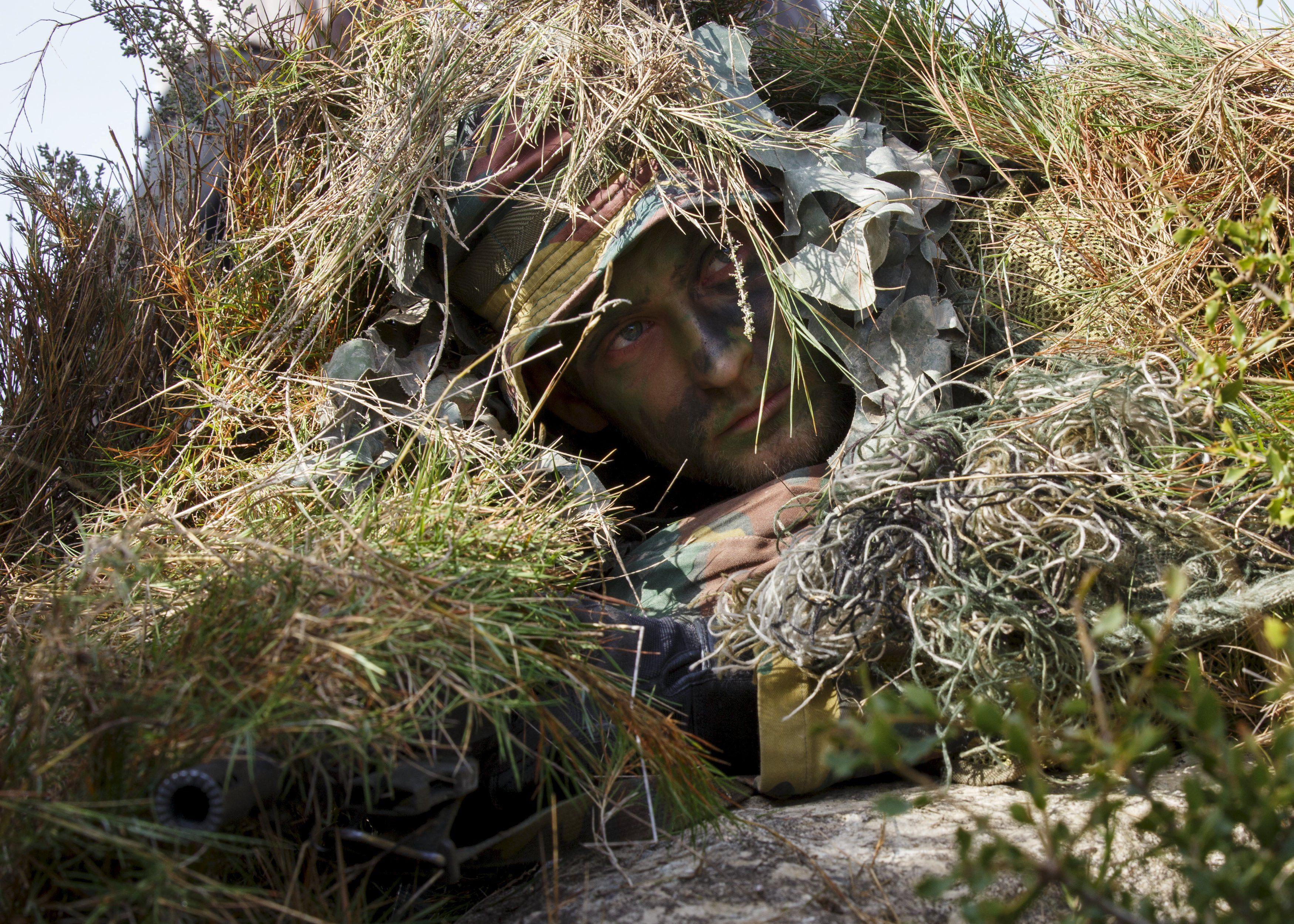 Солдат НАТО, иллюстрация