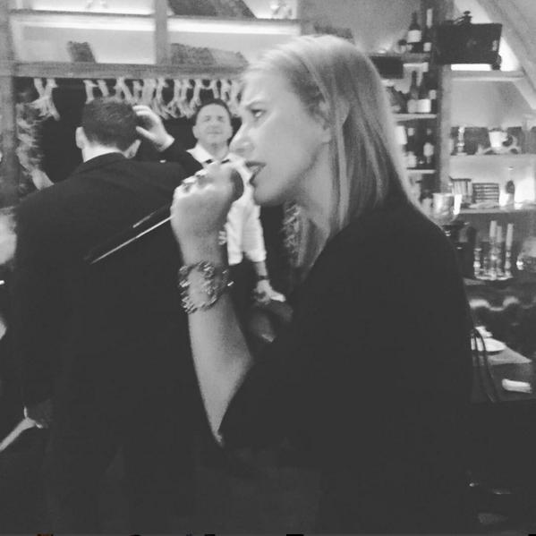 Земфира спела для Собчак