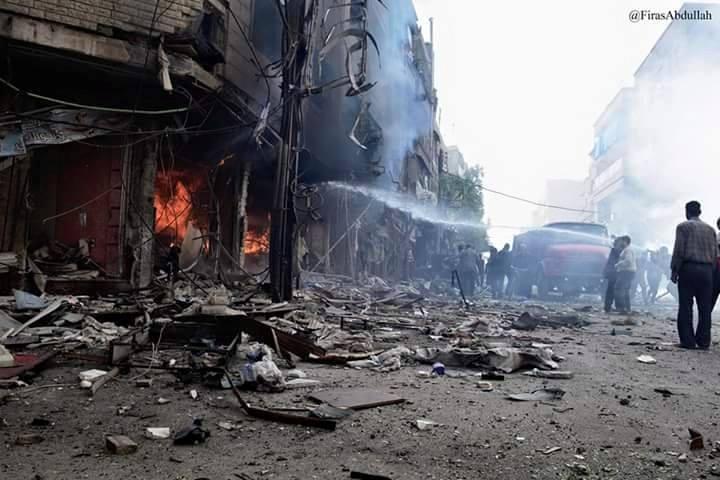 Война в Сирии, иллюстрация.